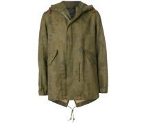 faded parka coat