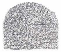 Grob gestrickter Turban
