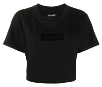 Klassisches Cropped-T-Shirt