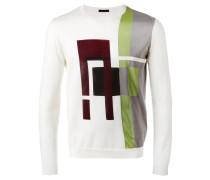 - Pullover mit geometrischem Muster - men