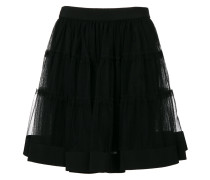 tulle mini skirt