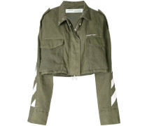 cropped Diag M65 jacket