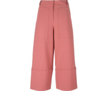 'Terra' cropped trousers