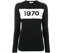 Pullover mit '1970'-Print