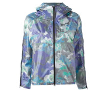 purple bloom run jacket