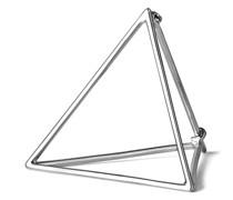 Dreieckiger Ohrring 25