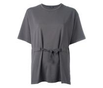 T-Shirt mit geknoteter Taille - women