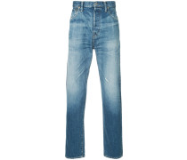 stonewashed casual jeans
