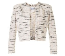Tweed-Jacke im Cropped-Design