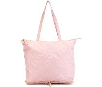 convertible quilted shopper tote