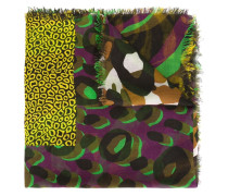 'Camou Zebra Patchwork' Schal