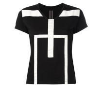 T-Shirt mit geometrischem Muster - women