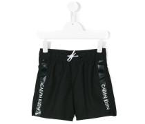 - printed swim shorts - kids - Polyester - 10 J.