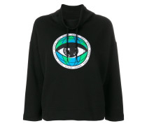 Eye globe patch jumper
