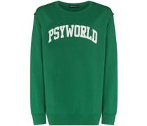 Psyworld crew-neck sweatshirt