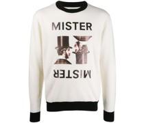 Intarsien-Pullover mit Dandy
