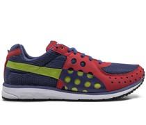Netz-Sneakers mit Perforierung