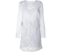 Kleid mit Guipurespitze