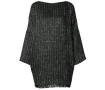 Tweedkleid mit kastigem Schnitt