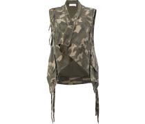 Weste mit Camouflage-Print - women - Baumwolle