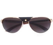 Sonnenbrille mit metallischen Beschlägen - men
