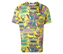 T-Shirt mit Print - men - Polyester - M