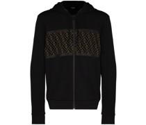 double FF zip hoodie