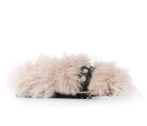 'Furry Softness' Sandalen