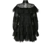 Kleid mit geblümter Spitze
