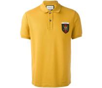 Poloshirt mit Wappen-Patch
