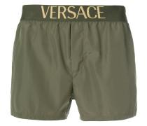 logo waistband swim shorts