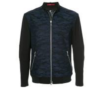 camouflage zipped jacket