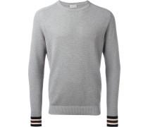 - Pullover mit gestreiften Bündchen - men