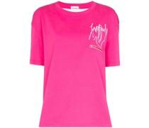 'Art Gallery' T-Shirt mit Print
