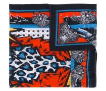 tiger print stole - men - Seide/Baumwolle