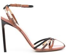 Sandalen mit Flechtdetails