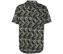 Hemd mit Schlangen-Print
