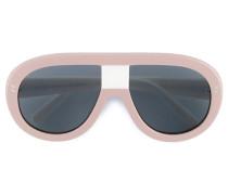 Oversized-Pilotenbrille - women - Acetat