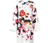 Seidenkleid mit floralem Print