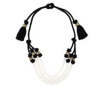 Halskette mit Kunstperlen