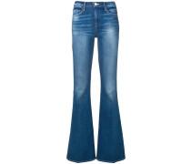 Bootcut-Jeans in Stonewashed-Optik