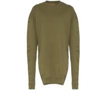 Sweatshirt mit Druckknöpfen