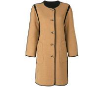 Wendbarer Mantel ohne Kragen