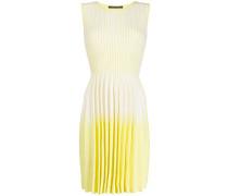 Gestreiftes Kleid mit Farbverlauf