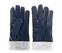 Shearling-Handschuhe