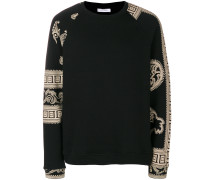 Baroque printed sweatshirt