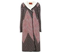 Mantel mit geometrischem Muster