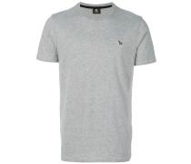 T-Shirt mit 'Zebra'-Patch