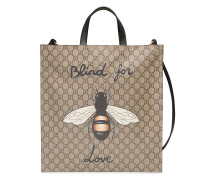 'GG Supreme' Handtasche mit Bienen-Print