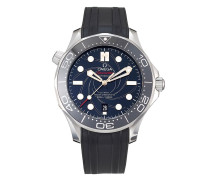 "Pre-owned Seamaster Diver ""James Bond"" Limited Edition Taucheruhr, 42mm"